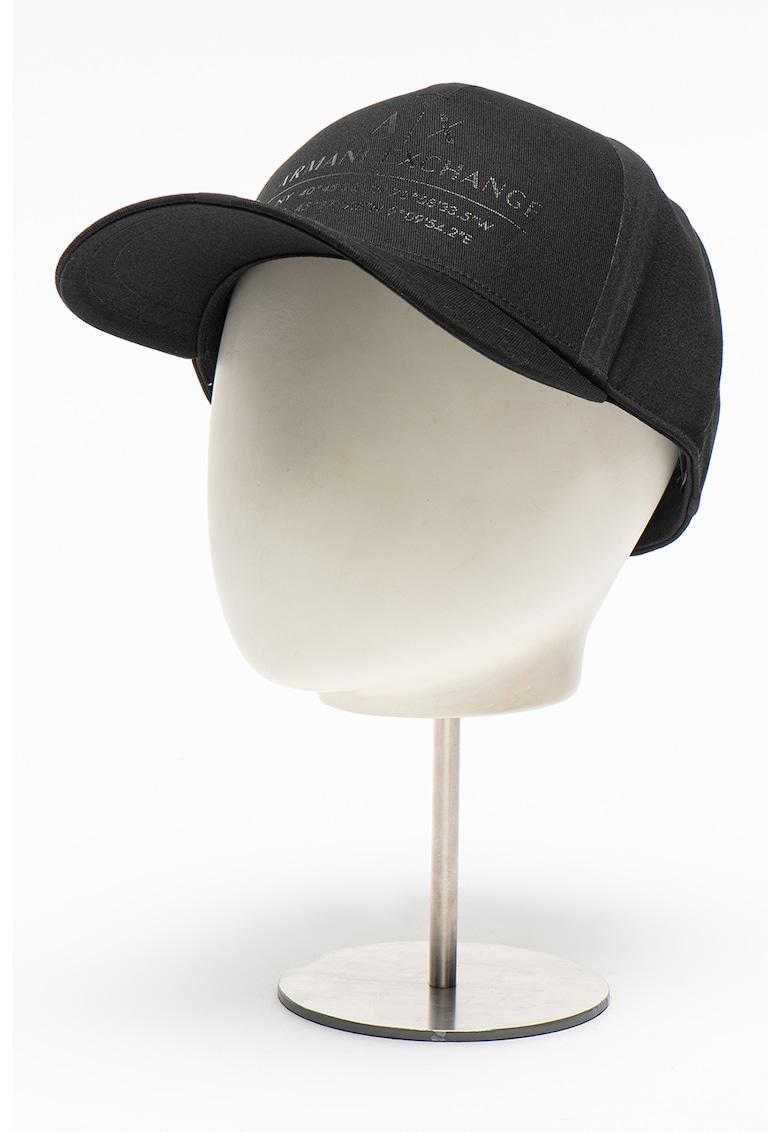 Sapca ajustabila cu imprimeu logo imagine fashiondays.ro 2021