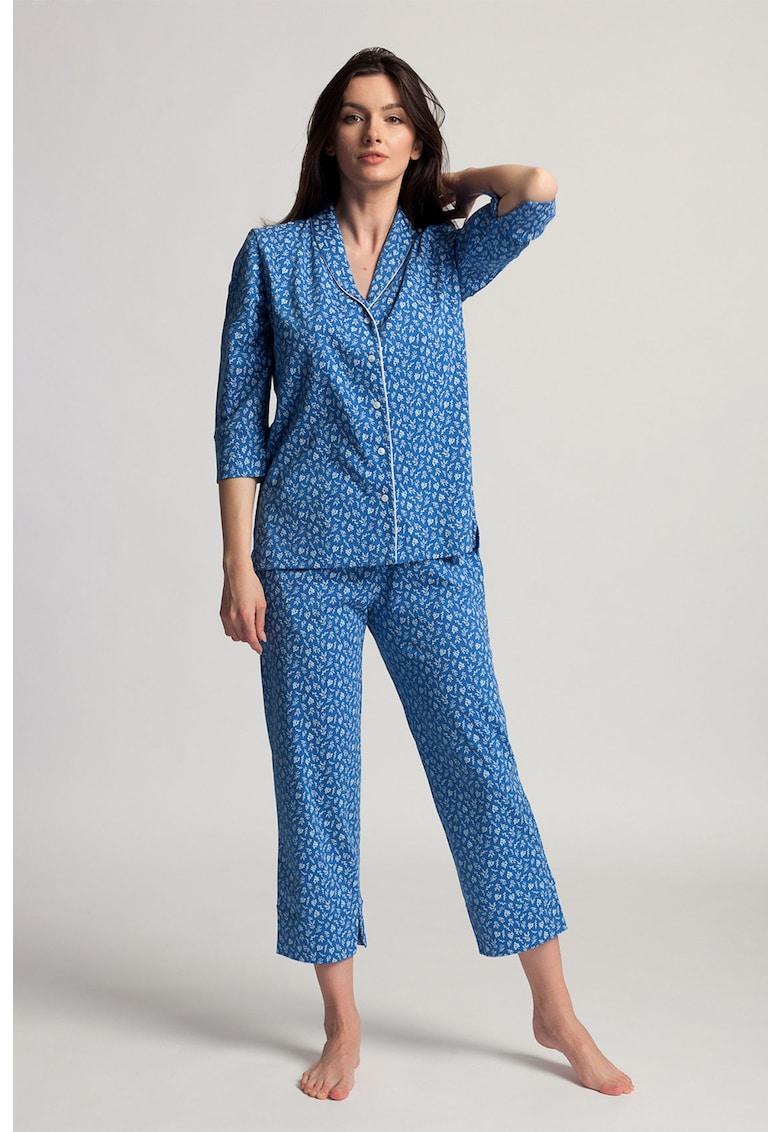 Pijama de bumbac organic Deborah imagine fashiondays.ro 2021