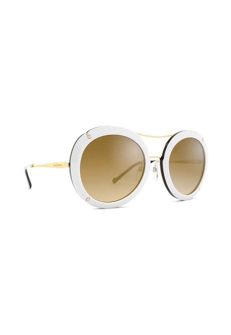 Ochelari de soare rotunzi cu lentile uni imagine fashiondays.ro Ana Hickmann