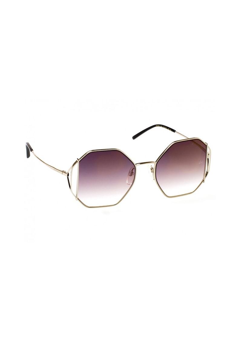 Ochelari de soare hexagonali cu lentile in degrade imagine fashiondays.ro Ana Hickmann