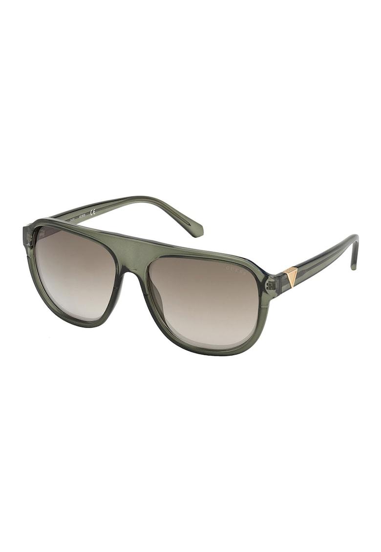 Ochelari de soare shield imagine fashiondays.ro Guess