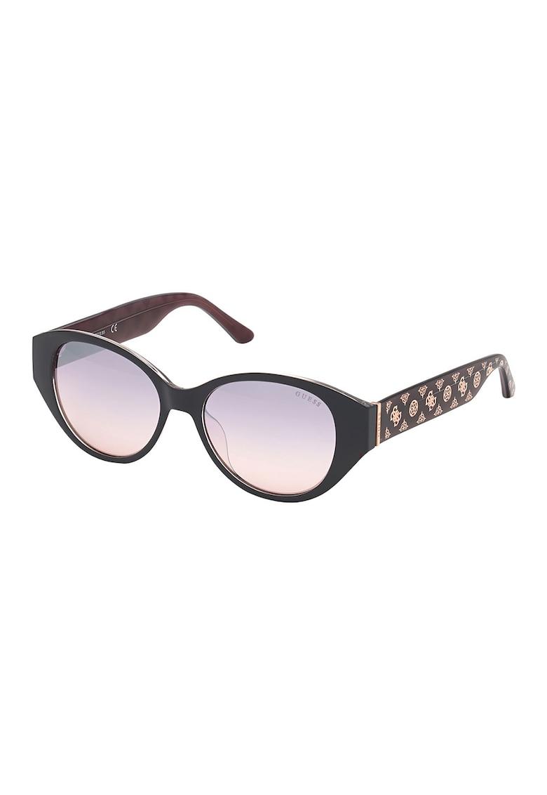 Ochelari de soare butterfly cu lentile oglinda imagine fashiondays.ro Guess
