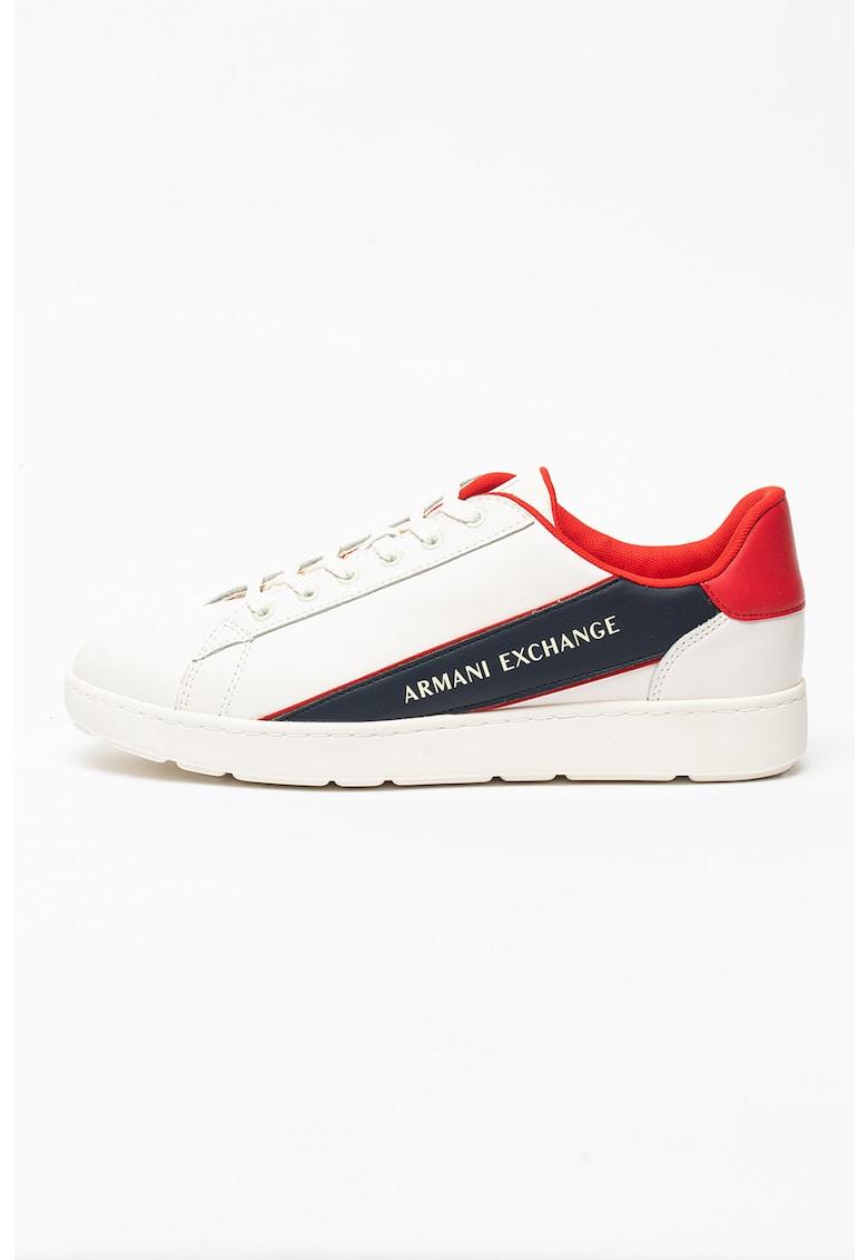 Pantofi sport cu insertii de piele imagine fashiondays.ro 2021