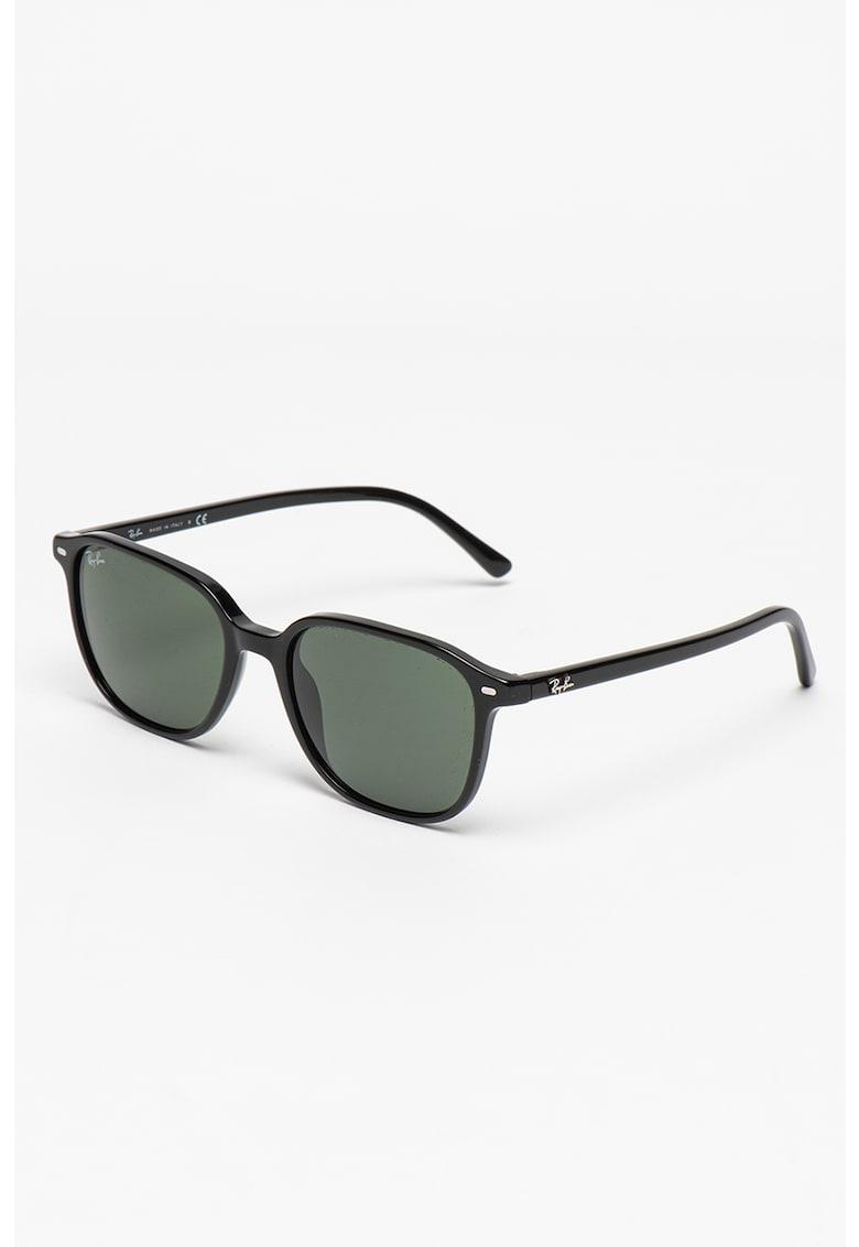 Ochelari de soare unisex dreptunghiulari cu lentile uni imagine fashiondays.ro Ray-Ban