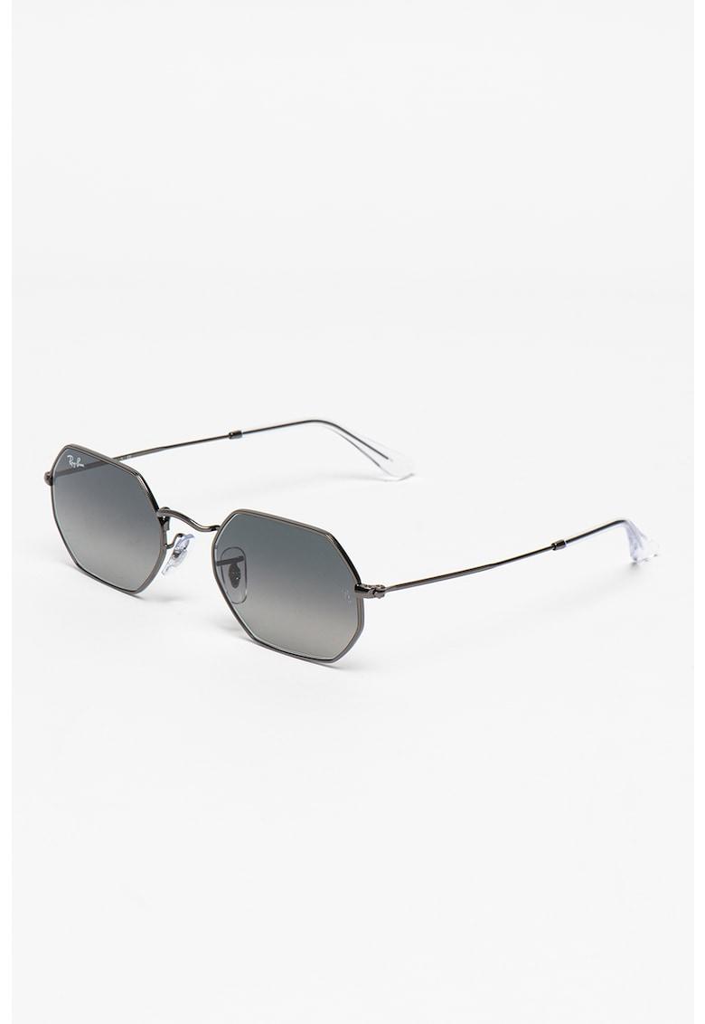 Ochelari de soare unisex octagonali imagine fashiondays.ro Ray-Ban