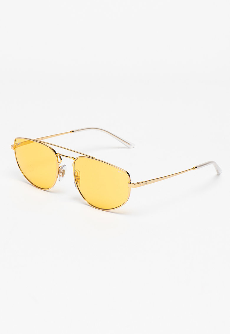Ochelari de soare aviator unisex cu lentile uni imagine fashiondays.ro Ray-Ban