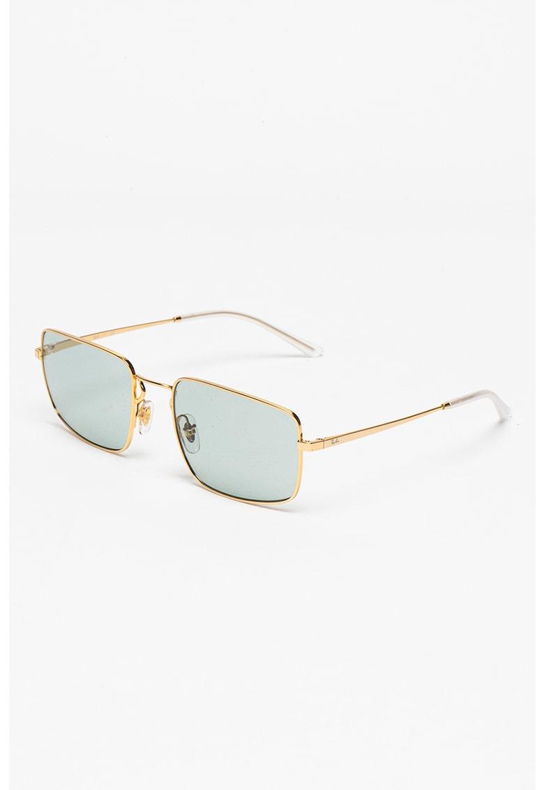 Ochelari de soare dreptunghiulari unisex imagine fashiondays.ro Ray-Ban