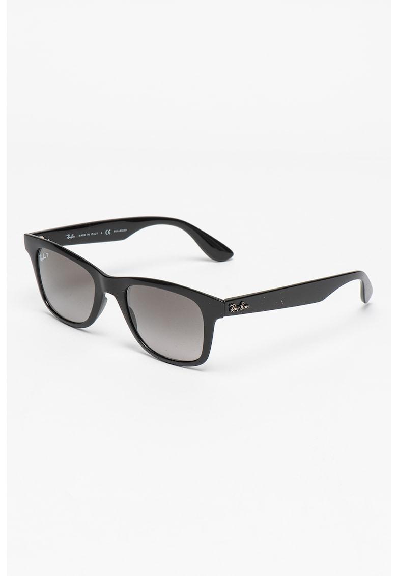 Ochelari de soare wayfarer polarizati cu lentile in degrade imagine fashiondays.ro Ray-Ban