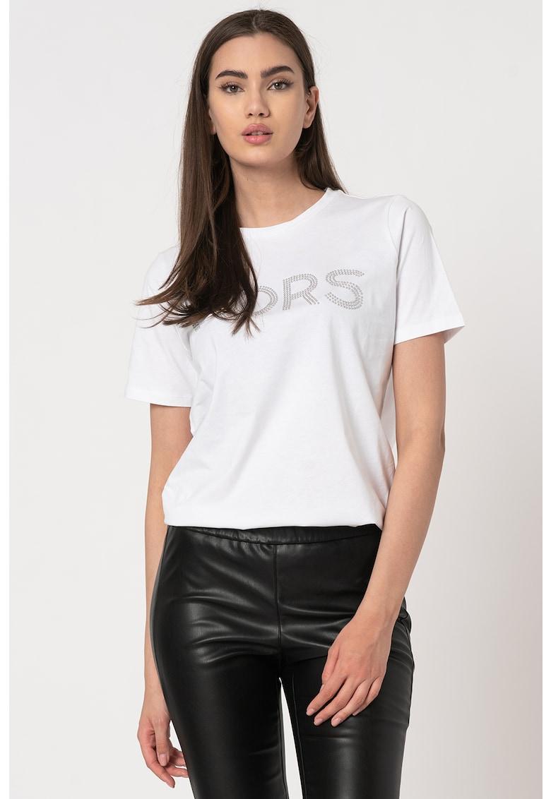 Tricou din bumbac organic cu logo de la Michael Michael Kors