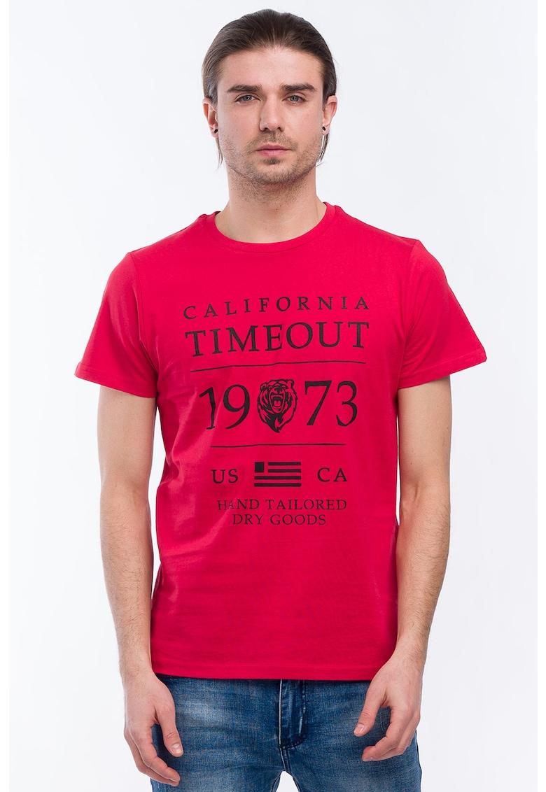 Timeout Tricou de bumbac cu imprimeu logo