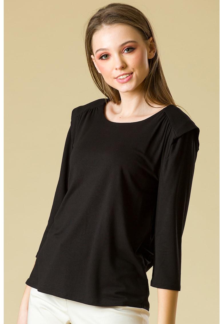 Bluza cu fronseuri pe umeri Marcy imagine fashiondays.ro 2021