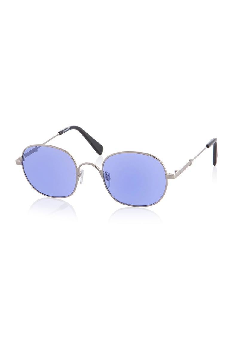 Ochelari de soare unisex rotunzi imagine fashiondays.ro JUST CAVALLI