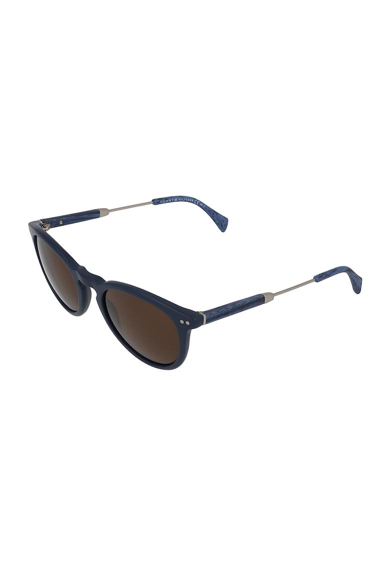 Ochelari de soare unisex pantos cu lentile cu model uni imagine fashiondays.ro Tommy Hilfiger