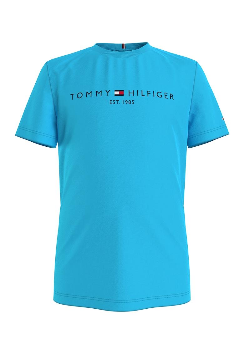 Tricou de bumbac organic cu imprimeu logo ' imagine fashiondays.ro Tommy Hilfiger