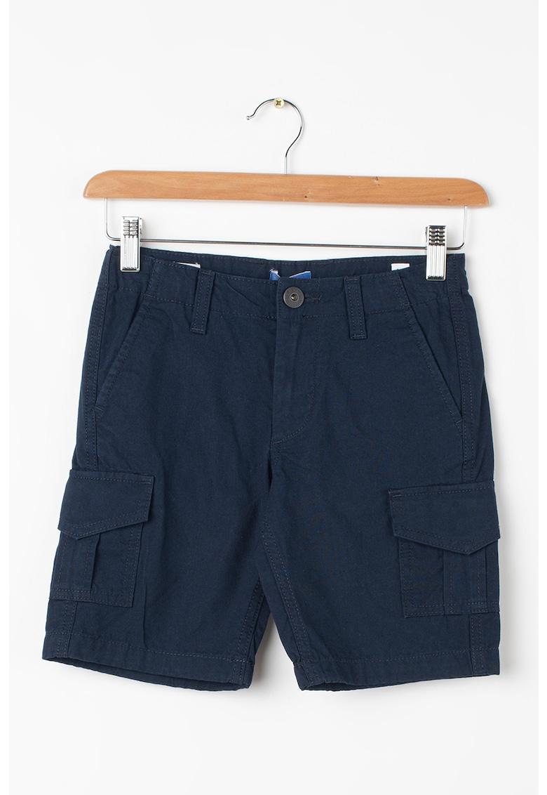 Bermude cargo cu buzunare oblice Charlie imagine fashiondays.ro Jack&Jones