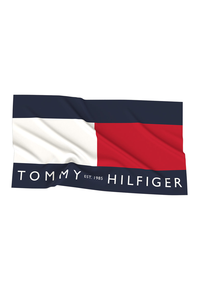 Tommy Hilfiger Prosop de plaja cu logo