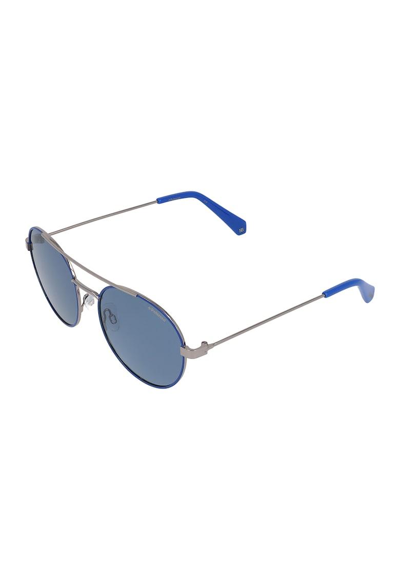 Ochelari de soare aviator unisex cu lentile polarizate imagine fashiondays.ro Polaroid