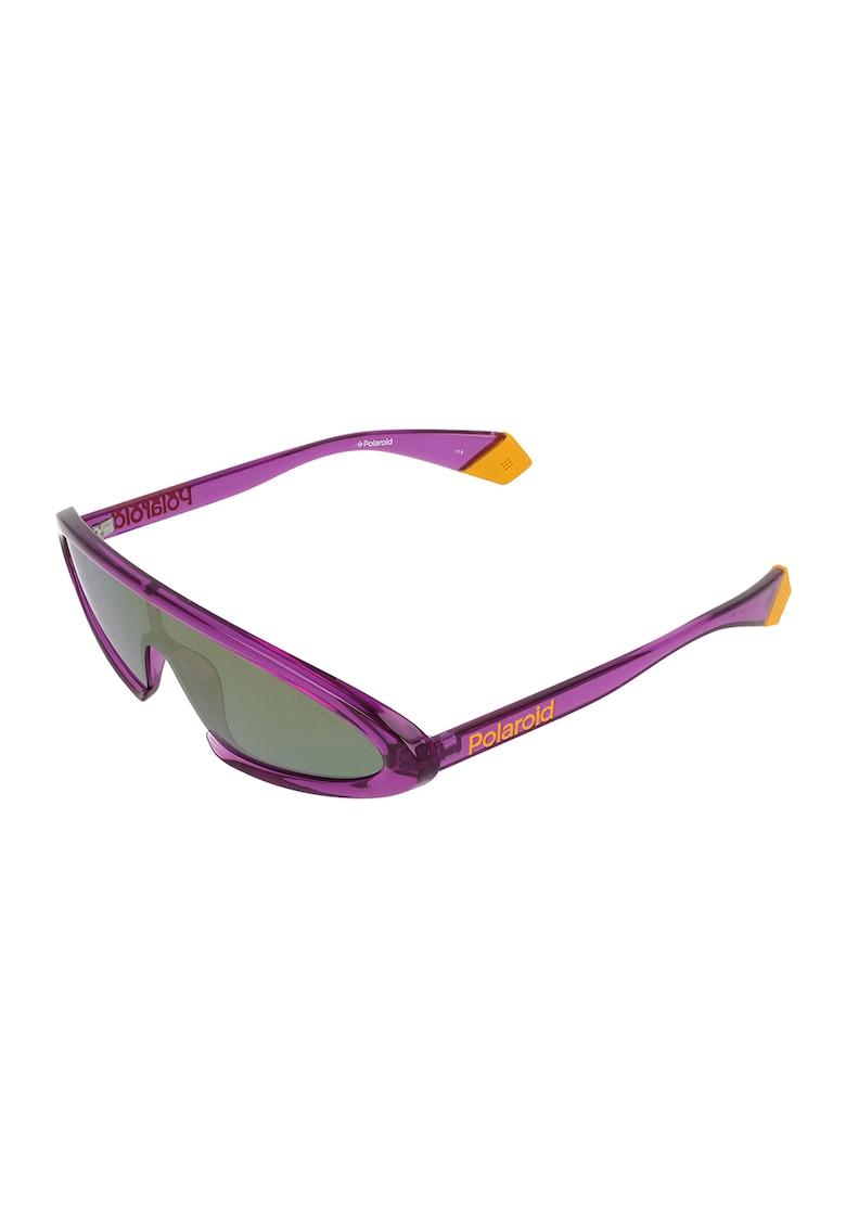 Ochelari de soare shield cu lentile polarizate imagine fashiondays.ro Polaroid