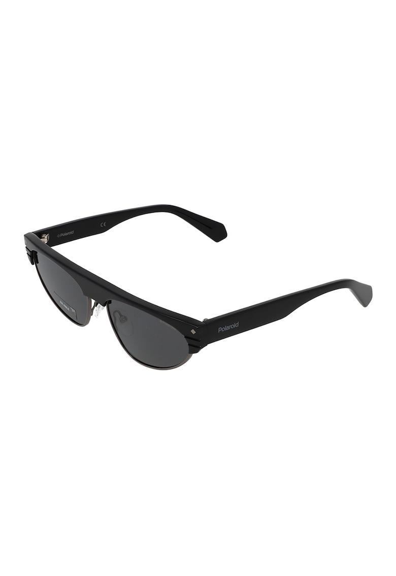 Ochelari de soare ovali cu lentile polarizate imagine fashiondays.ro Polaroid