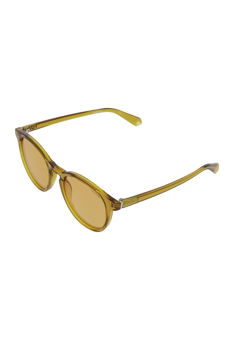 Ochelari de soare rotunzi unisex cu lentile polarizate imagine fashiondays.ro Polaroid