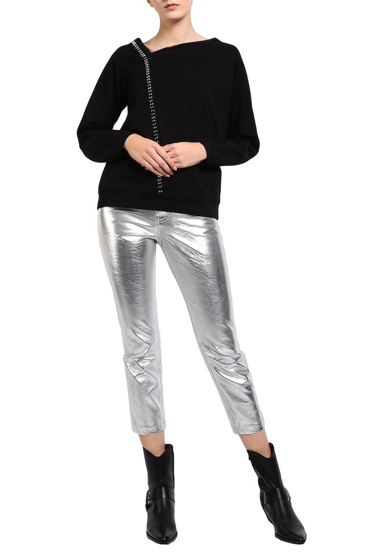 Bluza cu detalii metalice imagine fashiondays.ro Larisa Dragna