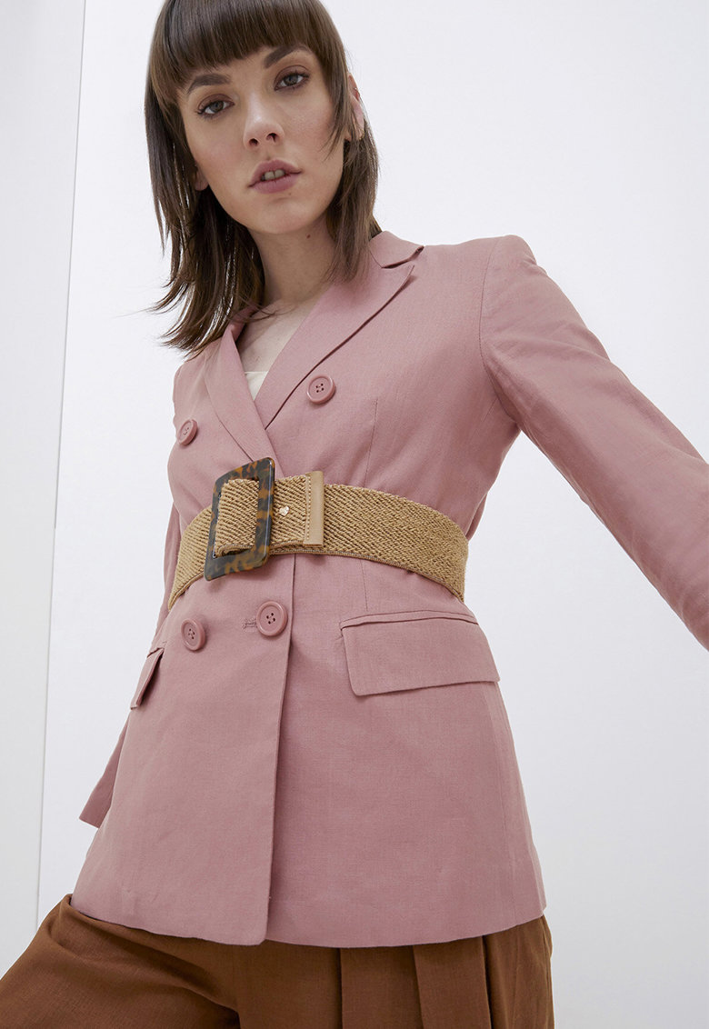 Curea cu model impletit imagine fashiondays.ro Motivi