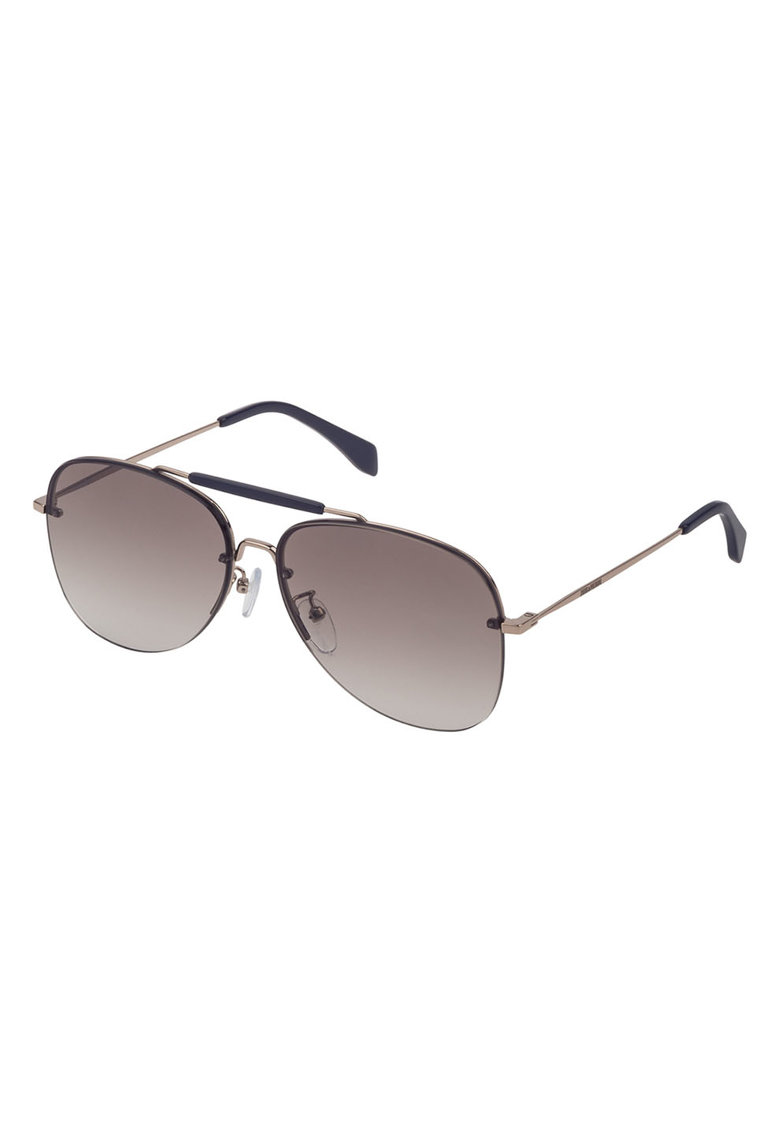 Ochelari de soare unisex cu lentile in degrade