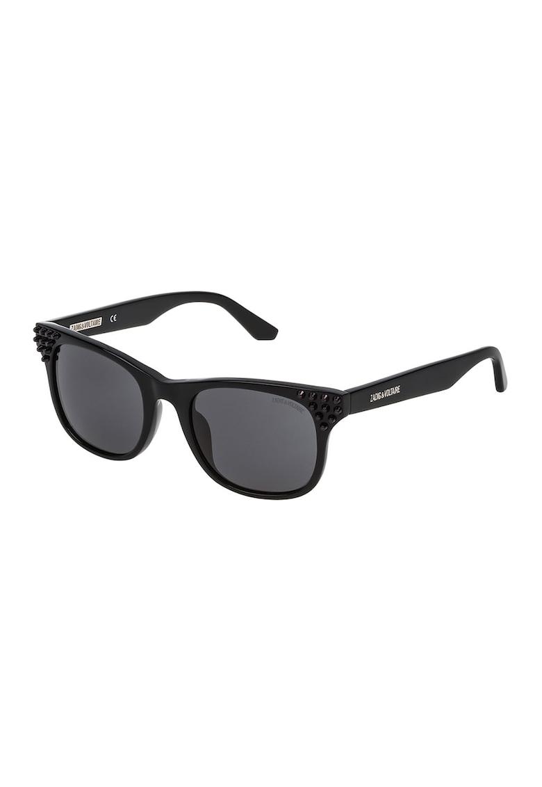 Ochelari de soare cu aplicatii imagine fashiondays.ro Zadig & voltaire
