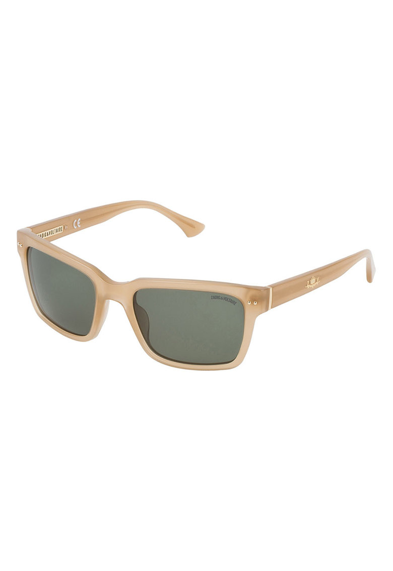 Ochelari de soare unisex cu lentile dreptunghiulare imagine fashiondays.ro Zadig & voltaire