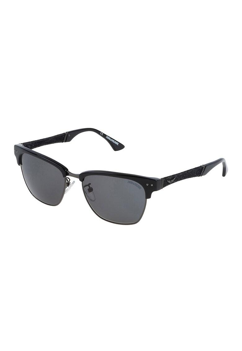Ochelari de soare clubmaster unisex imagine fashiondays.ro Zadig & voltaire
