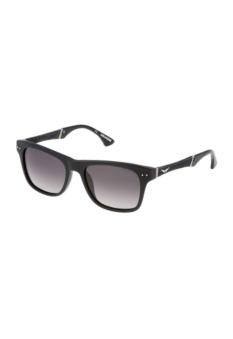 Ochelari de soare unisex cu lentile in degrade imagine fashiondays.ro Zadig & voltaire