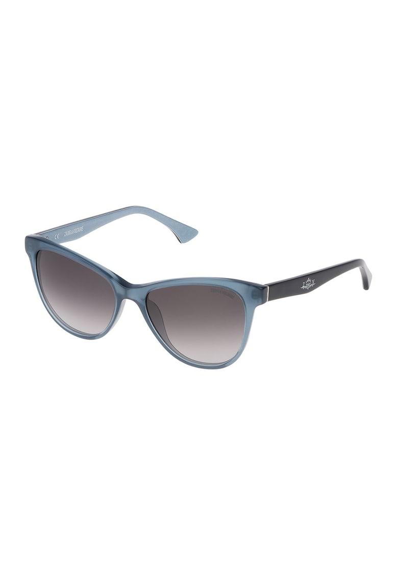 Ochelari de soare unisex patrati cu lentile in degrade imagine fashiondays.ro Zadig & voltaire