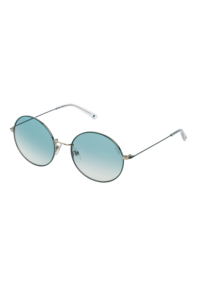 Ochelari de soare unisex rotunzi cu lentile in degrade imagine fashiondays.ro STING