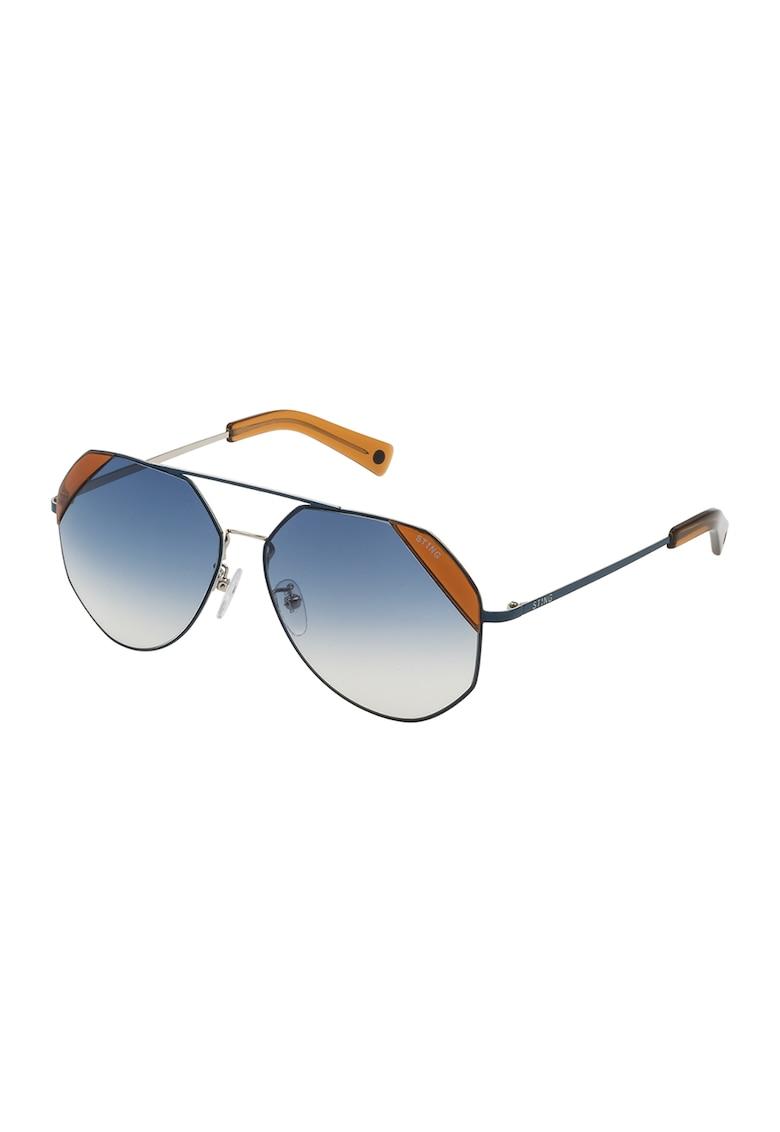 Ochelari de soare aviator cu lentile in degrade imagine fashiondays.ro STING