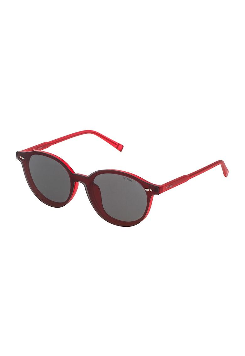 Ochelari de soare pantos unisex cu logo discret imagine fashiondays.ro STING