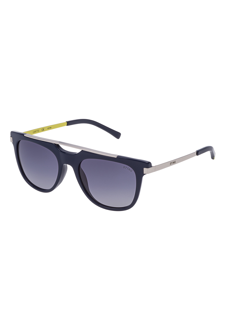 Ochelari de soare unisex top-bar cu lentile in degrade imagine fashiondays.ro STING