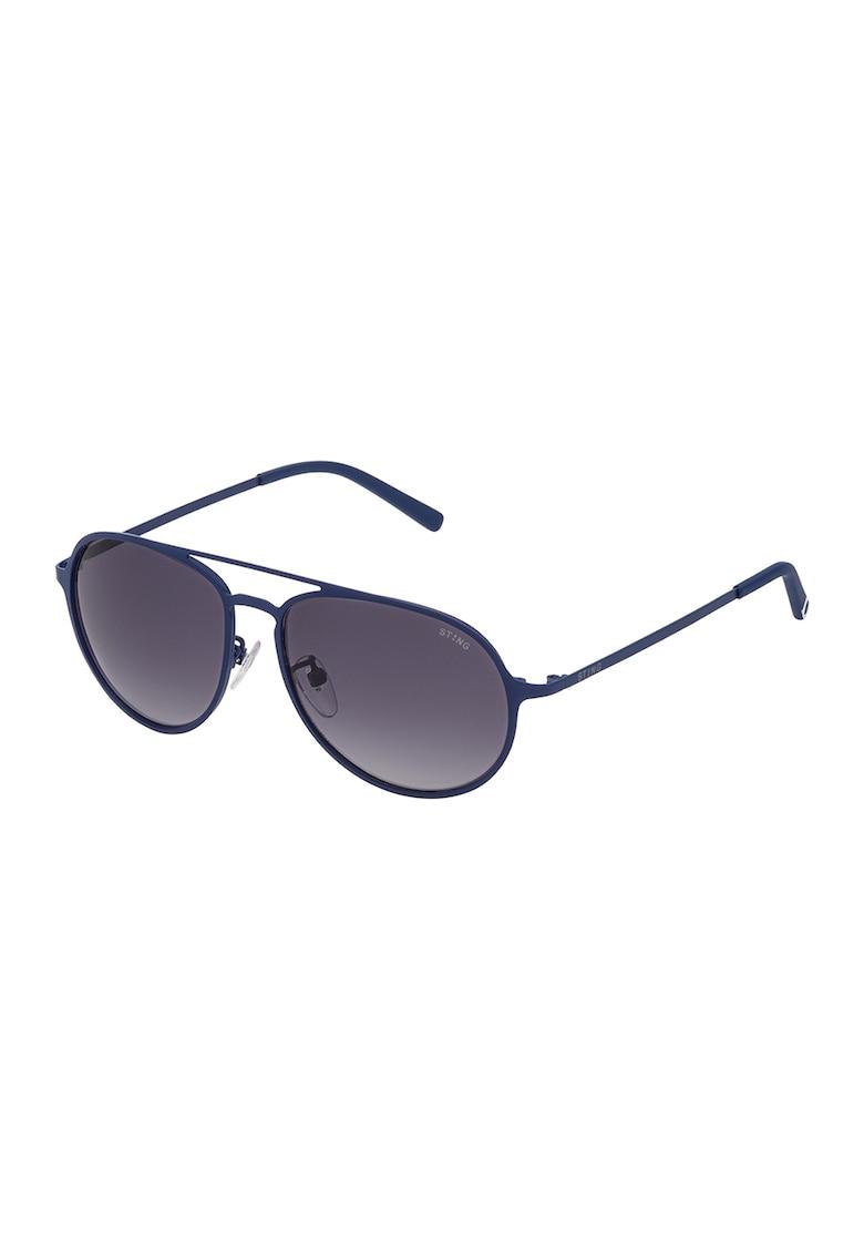 Ochelari de soare aviator cu lentile in degrade