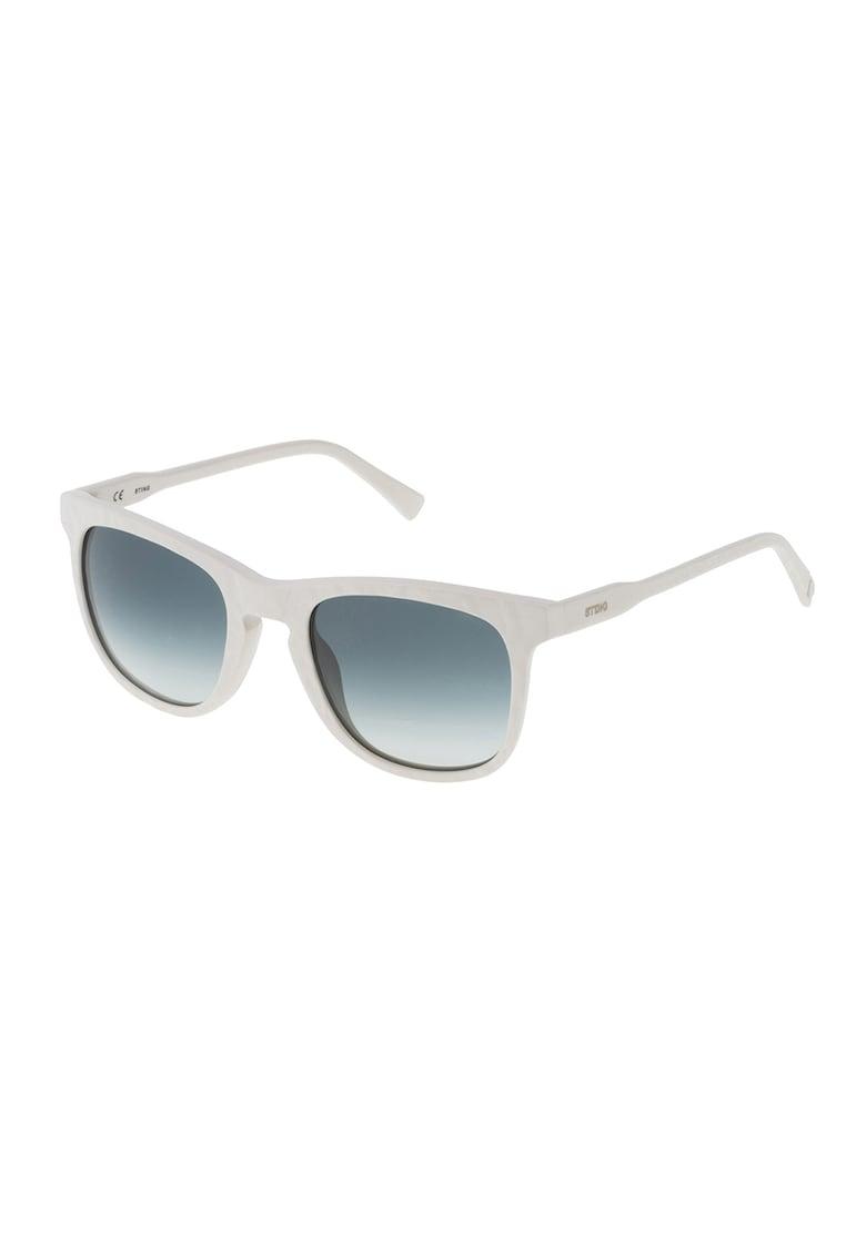 Ochelari de soare unisex dreptunghiulari cu lentile in degrade imagine fashiondays.ro STING