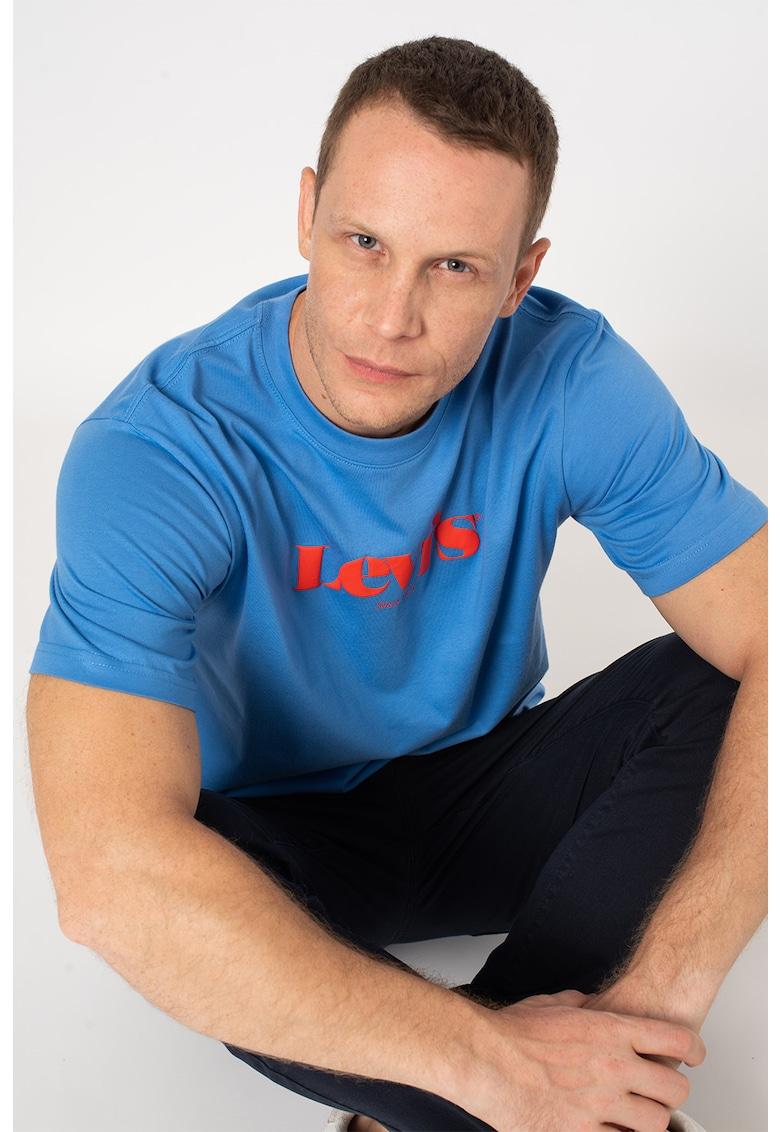 Levis Tricou de bumbac cu imprimeu logo si decolteu la baza gatului