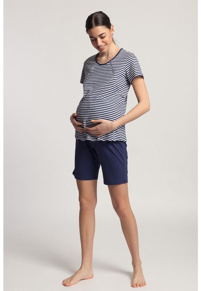 Pijama pentru gravide Edie