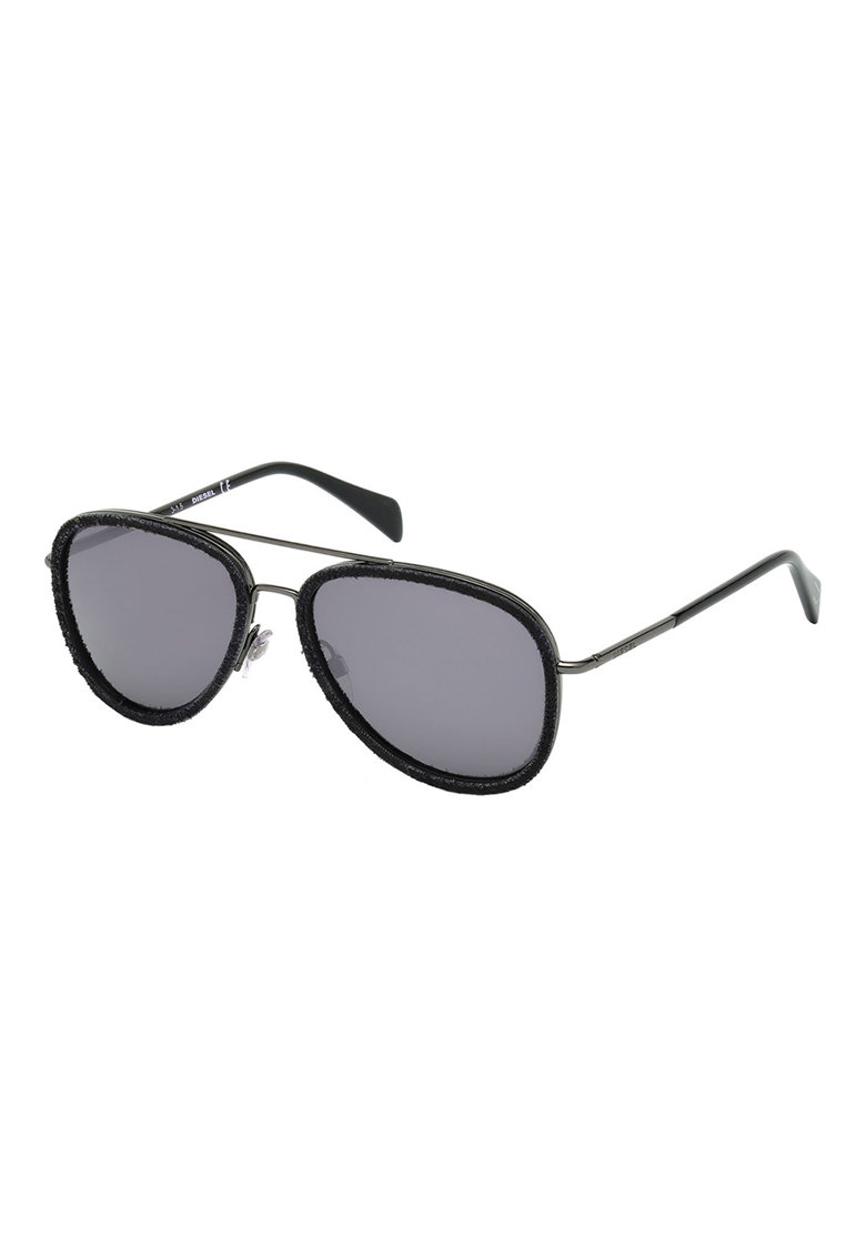 Ochelari de soare aviator cu rama metalica imagine fashiondays.ro Diesel