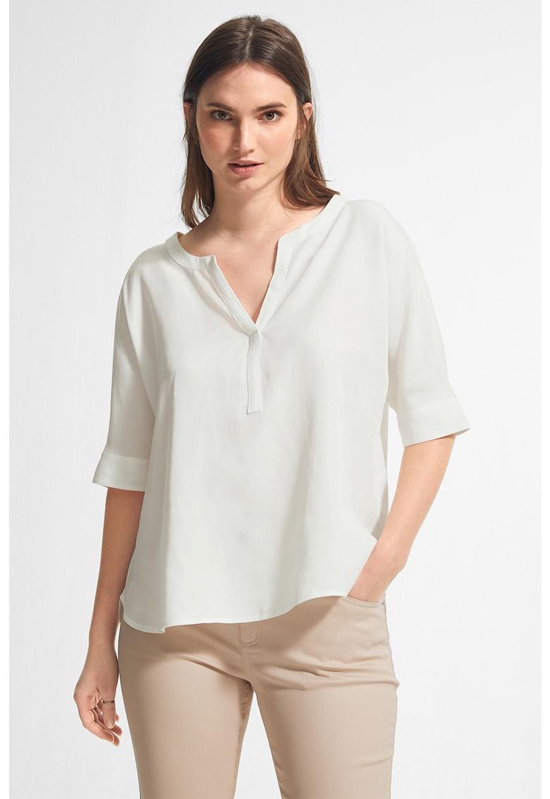 Bluza tip tunica din lyocell cu maneci medii imagine fashiondays.ro comma,,