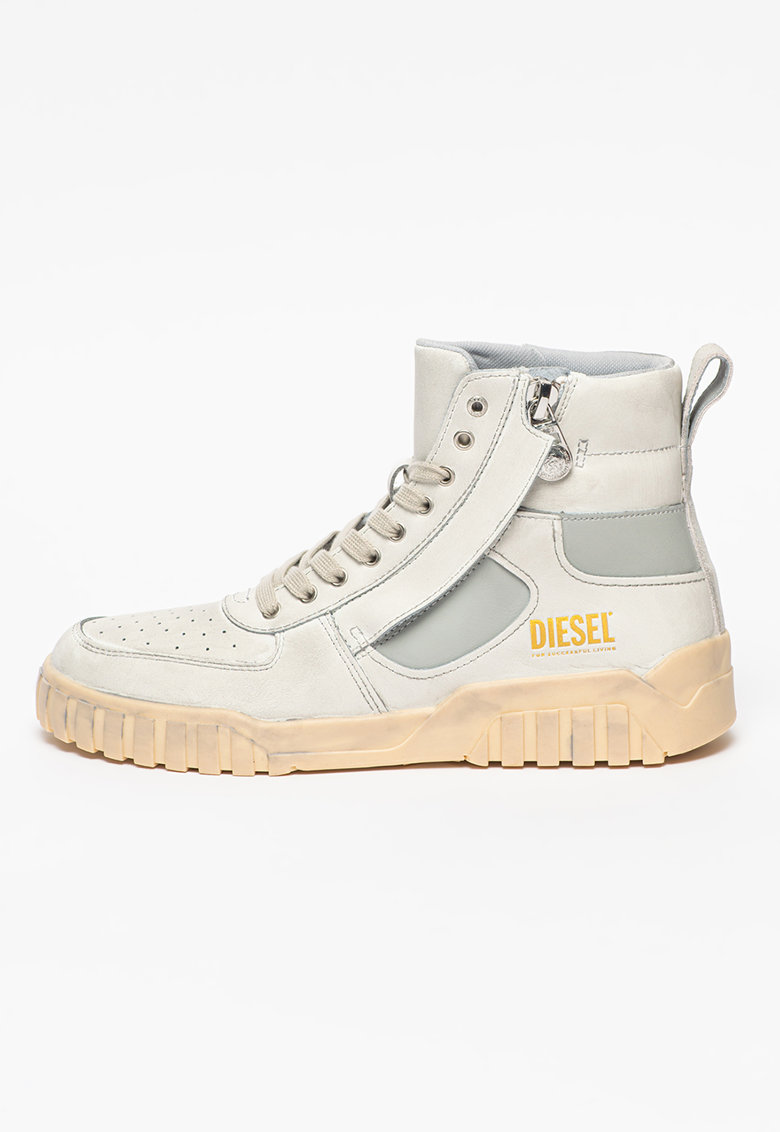 Pantofi sport inalti din piele Rua