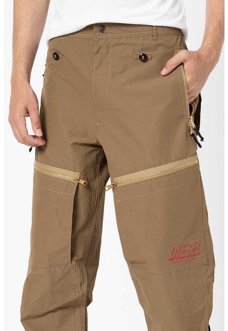 Pantaloni lejeri cu buzunare multiple P-Ambridge
