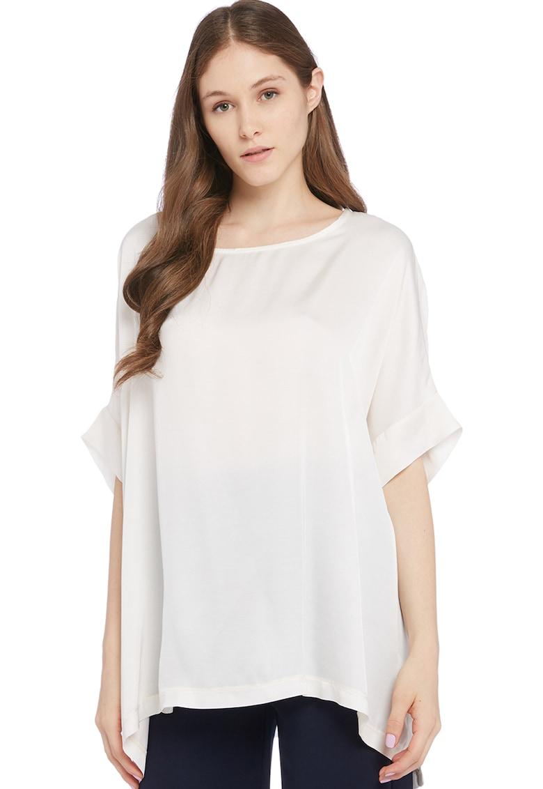 Bluza vaporoasa cu maneci medii imagine fashiondays.ro Stefanel