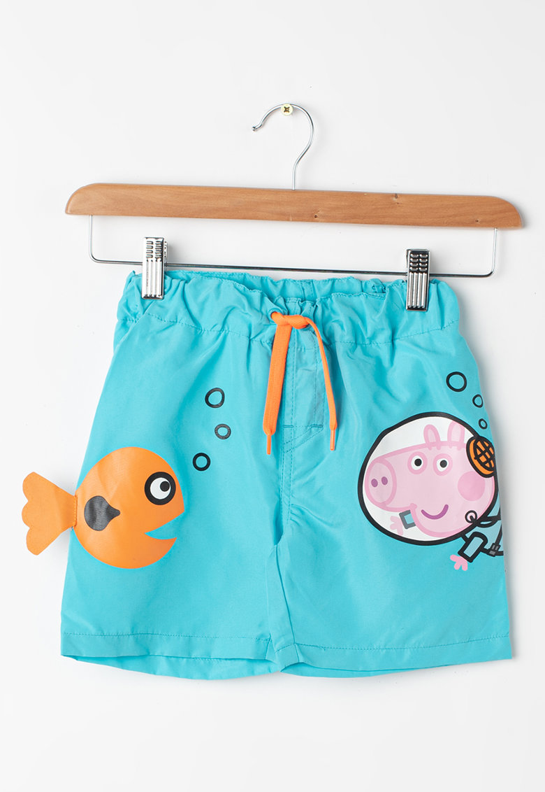 Pantaloni scurti de baie cu imprimeu Peppa Pig