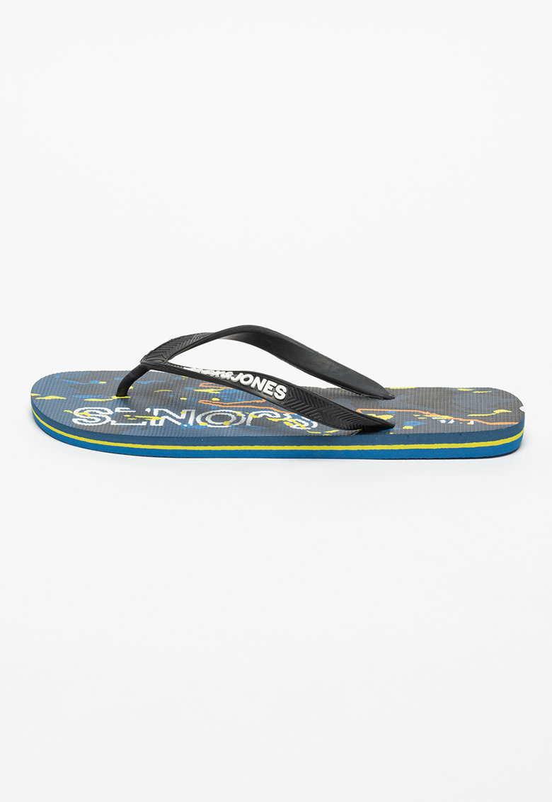 Papuci flip-flop cu imprimeu de la JackJones