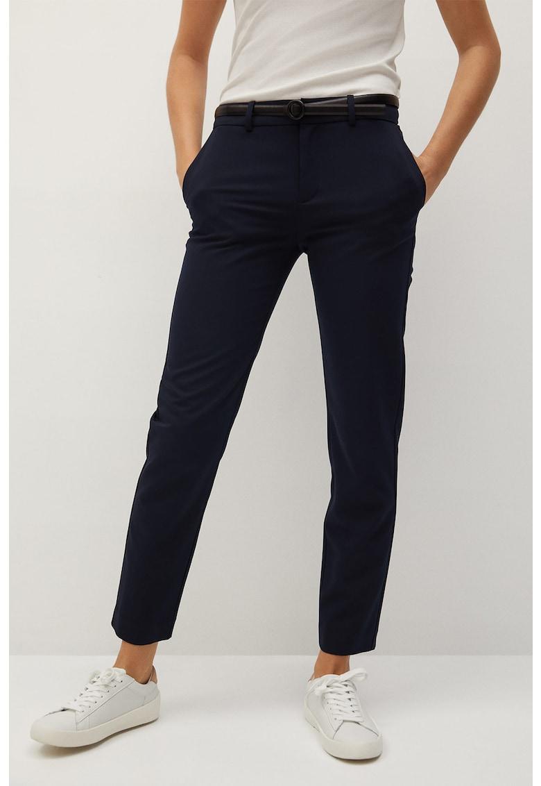 Pantaloni eleganti crop drepti Boreal