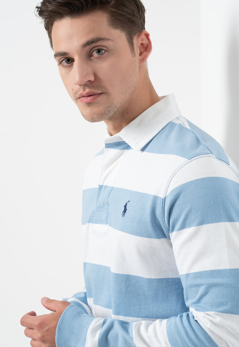 Bluza polo in dungi imagine fashiondays.ro Polo Ralph Lauren
