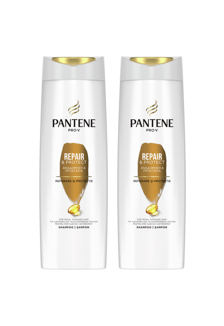 Pachet promo: 2 x Sampon  Pro-V Repair&Protect - 360 ml de la Pantene